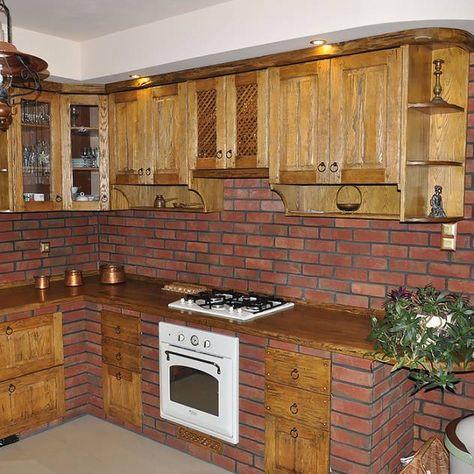 Imagenes De Decoracion Y Diseno De Interiores Cocina Ladrillo