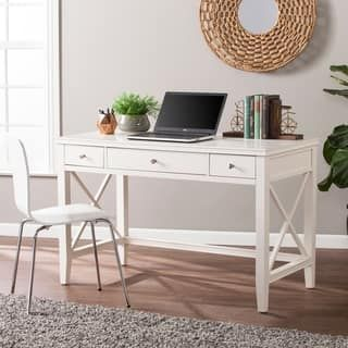 Buy Desks Computer Tables Online At Overstock Our Best Home Office Furniture Deals White Writing Desk Home Office Furniture Cheap Office Furniture