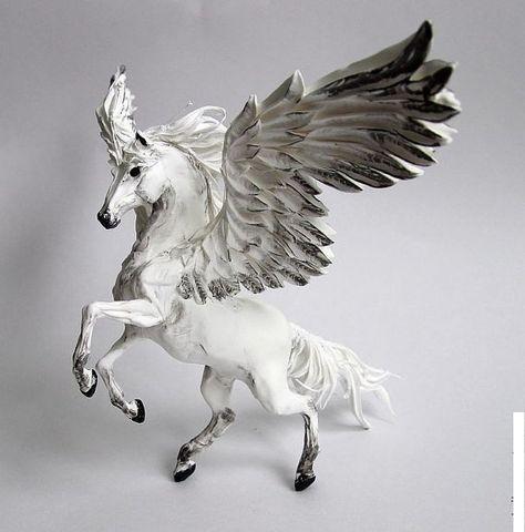 Pegasus unicorn fairy animal fantasy animal horse by lightfigurine