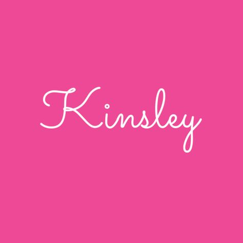 Kinsley - These Girl Baby Names Are Going to Be Popular in 2018 - Photos