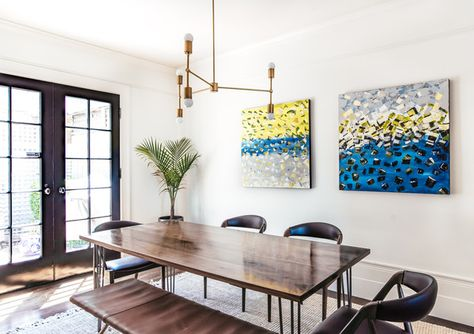 Fine Dining - A Modern S.F. Bachelor Pad That Gets It Right - Photos
