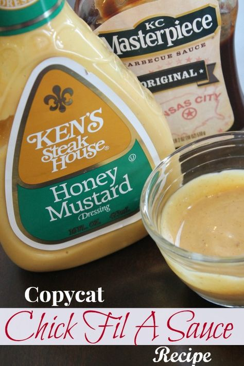 If you are a Chick Fil A Fan and love Chick Fil A Sauce, you will want to try this Copycat Chickfil A Sauce Recipe!