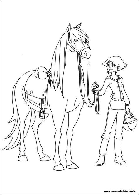 ausmalbilder pferde lenas ranch mit bildern