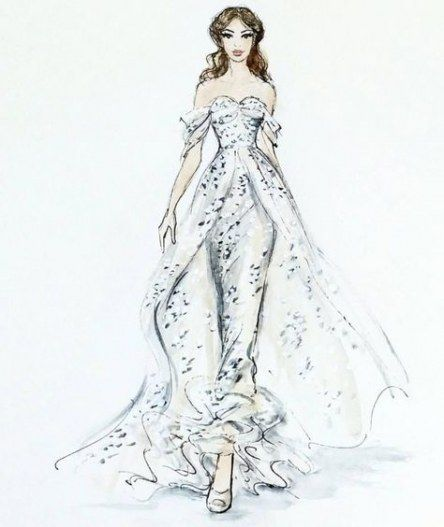 Wedding Dresses Designer Sketch Inspiration 27 Best Ideas Dress Design Drawing Wedding Dress Sketches Dress Drawing