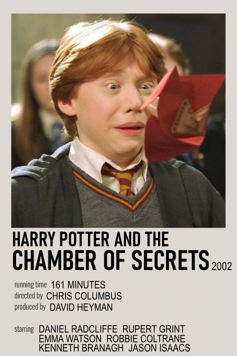 Harry Potter And The Chamber Of Secrets Movie Poster Harry Potter Movie Posters Harry Potter Movies Harry Potter Wallpaper