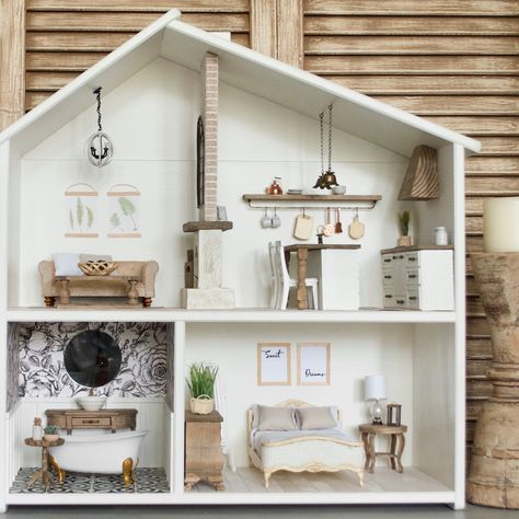 Getting Started with Dollhouses Big Girl Rooms Dollhouses Started Big Girl Rooms big Dollhouses Girl Rooms Started Mini Doll House, Barbie Doll House, Doll Furniture, Furniture Decor, Modern Dollhouse Furniture, Ikea Dollhouse, Dollhouse Design, Dollhouse Ideas, Dollhouse Dolls