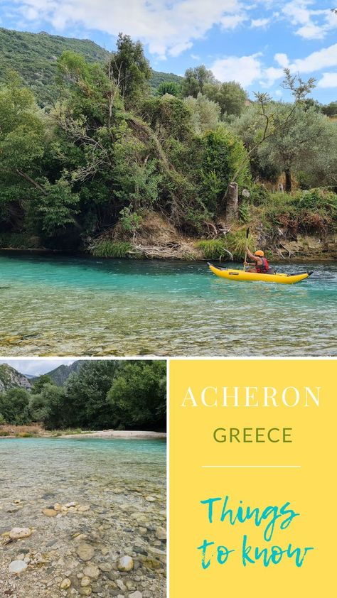 Things to know ACHERON RIVER GREECE