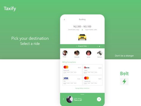 Taxify Redesigned