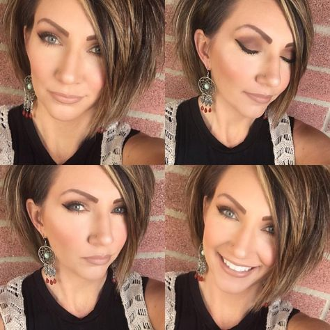 Love the cut and style #MessyHairStylesStepByStep