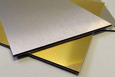 Brushed Aluminum Composite Panel Alusign China Brushed Aluminum Paneling External Wall Cladding