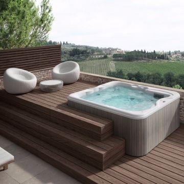Jacuzzi Lodge Mini Pool Tattahome In 2020 Hot Tub Backyard Hot Tub Outdoor Jacuzzi Outdoor