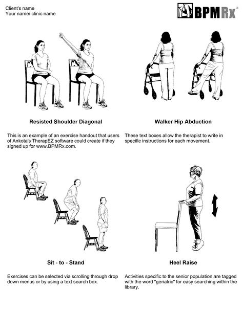 Physical Therapy Back Exercises Will They Keep Going With Their