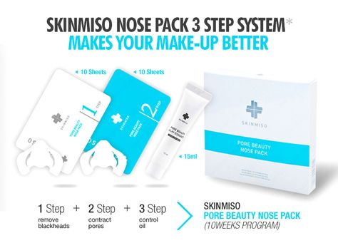 IN-DEPTH REVIEW | SKINMISO PORE BEAUTY NOSE PACK by Wishtrend Glam #skinmiso #pore #blackhead #whitehead #review