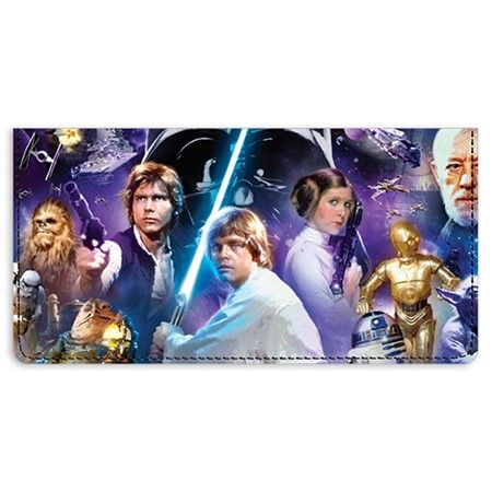 Star Wars™ 40th Anniversary Leather Checkbook Cover