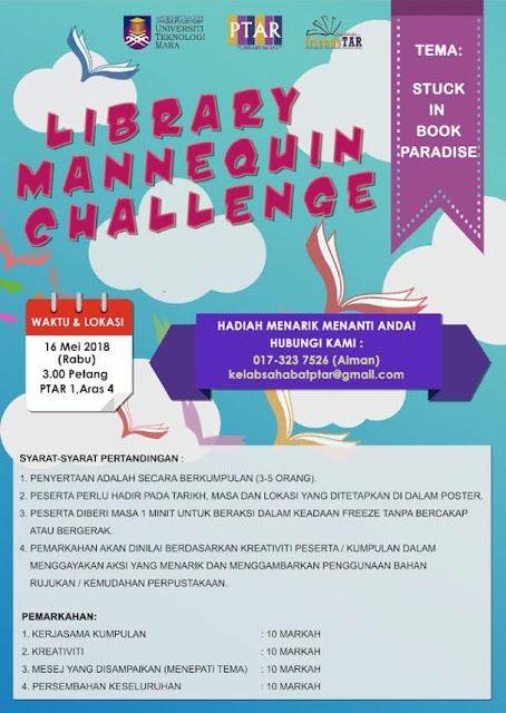 Library Mannequin Challenge Perpustakaan Uitm Mannequin Challenge Library Challenges