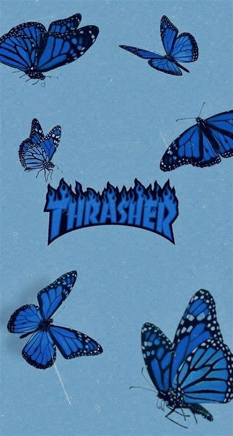 Wallpaper Butterflyes Thrasher Sfondi Farfalle In 2020