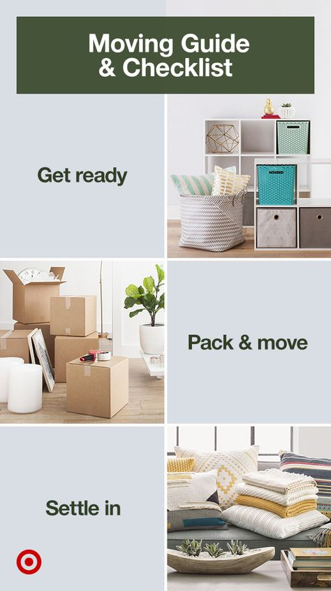 Create a moving checklist with storage must-haves, packing tips  hacks to make moving into your new home easy  organized.