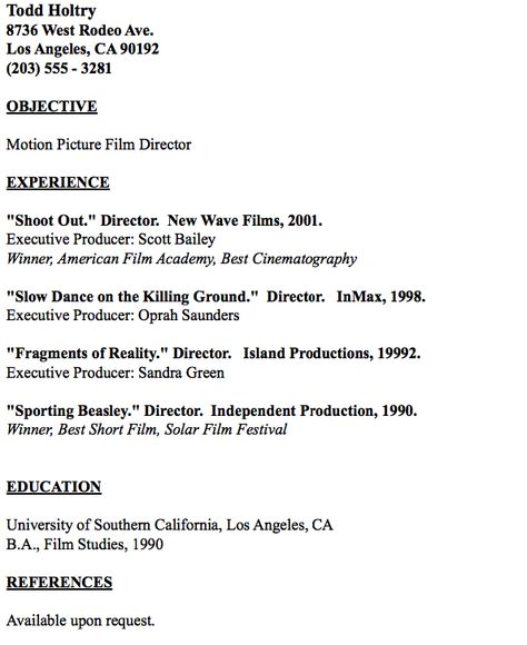 Example Of Master Electrician Resume - http\/\/resumesdesign - plumber resume