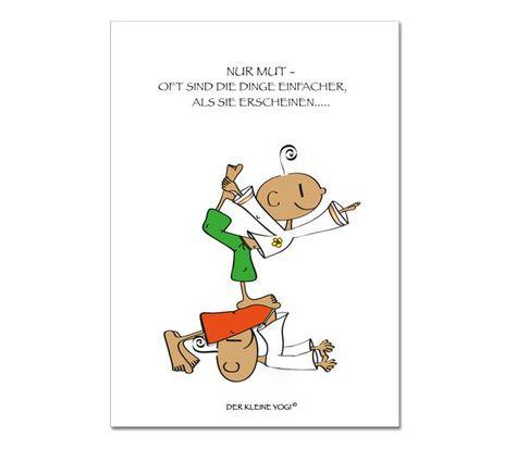 ❤ DER KLEINE YOGI - POSTKARTE ❤ Jedes wunderschöne Motiv auf unseren Postkarten wird mit 100% Liebe, Leidenschaft und Hingabe von Barbara Liera Schauer entworfen und gezeichnet ❤ Wir achten bei der Herstellung unserer Produkte auf höchste Qualität ❤ Ein liebevolles Geschenk vom kleinen Yogi ist immer etwas ganz besonderes und berührt die Herzen von Groß und Klein ❤ Format: 148 x 105 mm (DIN A6)