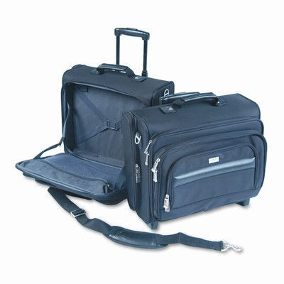 UNITED STATES LUGGAGE Solo Rolling Laptop Case/Overnighter