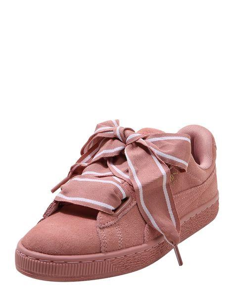 Puma Sneaker Heart Damen Altrosa Grosse 36 36 5 In 2020 Puma Sneaker Schuhe Damen Und Damenschuhe