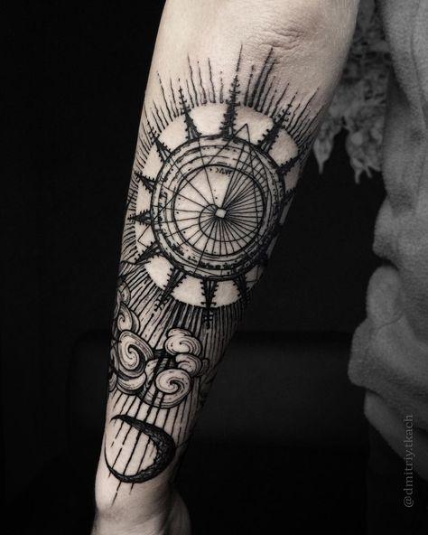 The Best Blackwork Tattoos Tattooinspiration Tattoo Blackwork Sleeve Tattoos Tattoos Forearm Tattoos