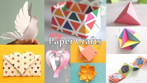 10 Best Paper Crafts