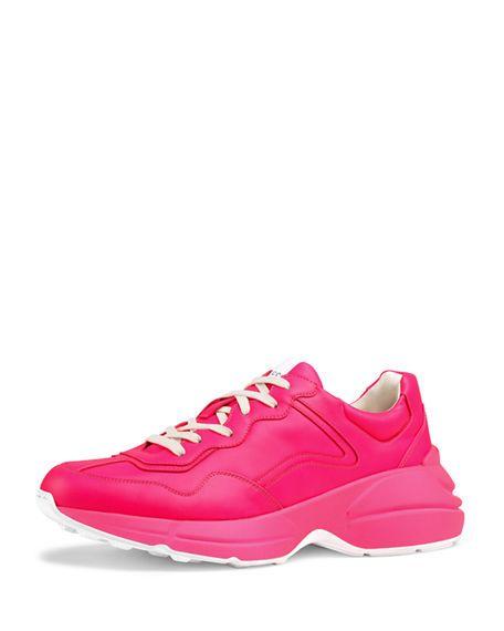 pink gucci shoes men