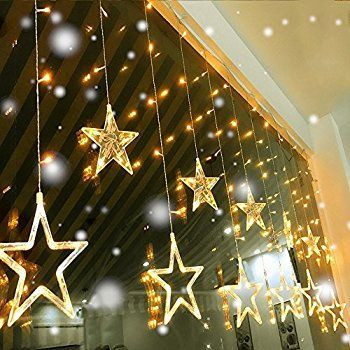 Amazonsmile Excelvan Neueste 30 V Niederspannung V Art Feen 136led Amazonsmile Exc Icicle Christmas Lights Curtain Lights Christmas Wall Art Printables