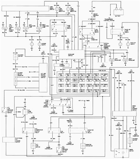 [DIAGRAM] 2001 Cavalier Aldl Connector Wiring Diagram FULL