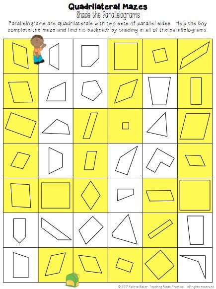 Quadrilateral Games Centers Properties Of Quadrilaterals Activities Quadrilaterals Activities Quadrilaterals Quadrilateral Games Quadrilaterals 3rd grade worksheets