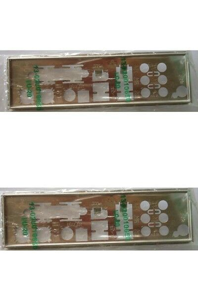 Motherboard Backplates 170080: Asus Genuine P5ad2-E Premium I O Io