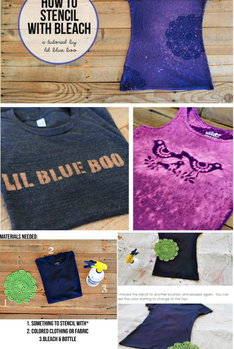 ac821e6cb0 Estampa com alvejante altered clothing pinterest jpg 474x707 Estampa com  alvejante