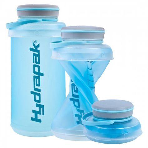 Bidon de Hydrapak de 1 litro, duradero, flexible, plegable y a prueba de fugas. Es más ligero y más fácil de llevar que las botellas duras. http://www.daantienda.es/hydrapak/bidon-stash-1l-hydrapak-2606