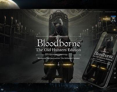 Check Out New Work On My Behance Portfolio Bloodborne Web