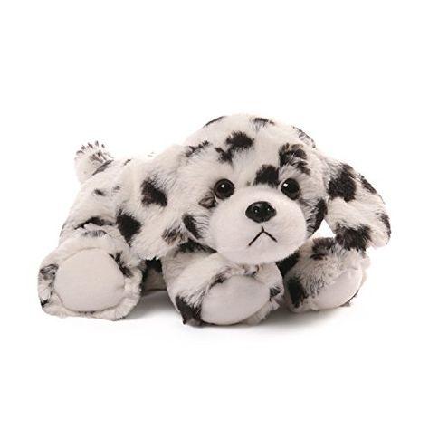 7.5 Inches Tall Stuffed Animals Soft Gray Dalmatian Plush Puppy Dog