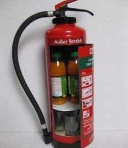 Diy Fire Extinguisher Mini Bar Fire Extinguisher Car Part