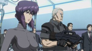 Ghost In The Shell Stand Alone Complex Solid State Society Ghost In The Shell Ghost Battle Angel Alita