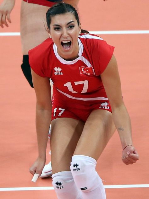 Neslihan Darnel Turkish Olympic Volleyball Voleybol Oyunculari Voleybol Spor