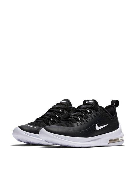 Nike Air Max Axis Junior Trainers - Black | Air max, Nike ...