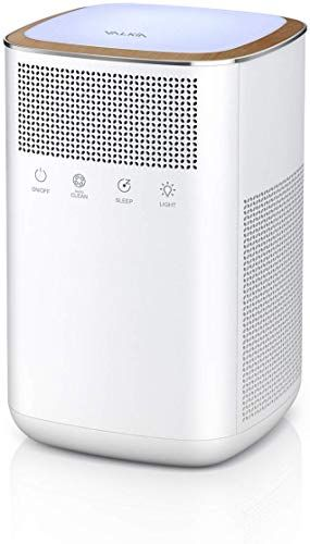New Valkia Air Purifier Home Pets True Hepa Filter Activated Carbon Air Cleaner Led Night Light Ultra Quiet Air Purifier Filter Bedroom Baby S Room Office Etc In 2020 Air Purifier Filter
