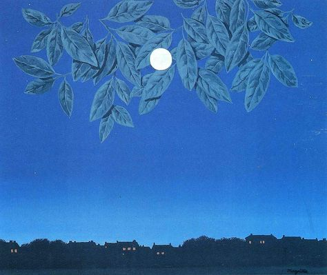 The White Page, 1967 by Rene Magritte #magritte #paintings #art