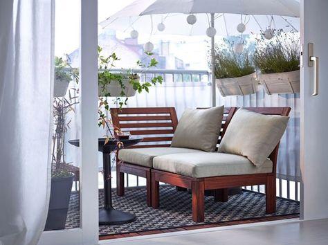 13 Ideas De Balcones Ikea Balkon Muebles Terraza Ikea
