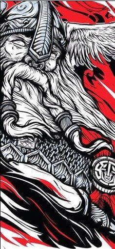 190 Odin S Power Ideas Vikings Norse Norse Vikings Viking vegvisir odin nordic wallpaper. pinterest