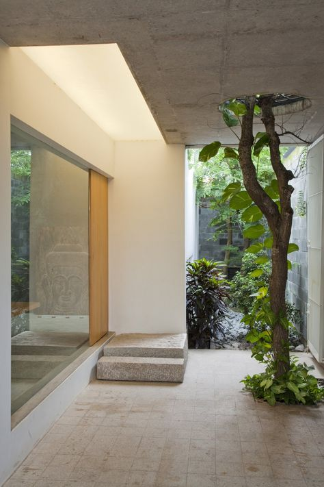 *Interiors, landscape, greenery* - M11 House by a21studio