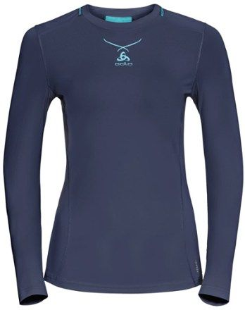 ODLO Ladies Womens Tee T-shirt Running Jogging Gym Tshirt TEC Active Shirt Small