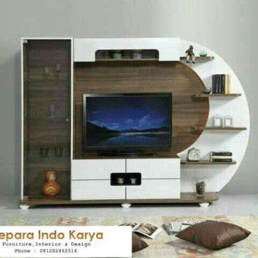 Background Tv Ruang Tamu Desain