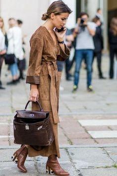 News Photo : Miroslava Duma outside Pucci during Milan Fashion.