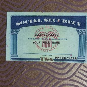 Social Security Card 16 Ssn Download Social Security Card Card Templates Printable Card Template