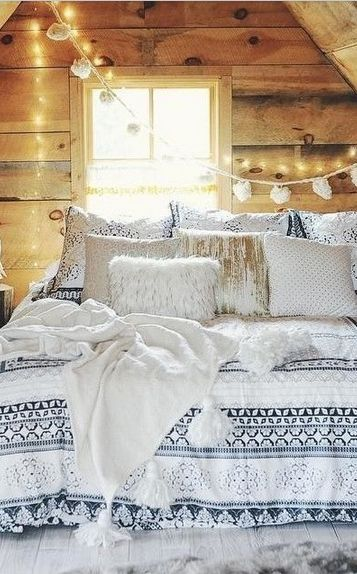 If I lived in a log cabin, somewhere snowy, and spent all day keeping warm in bed
